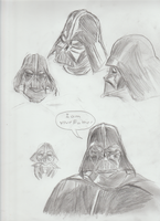 Darth Vader Sketch by jaysonreyes