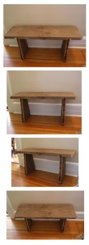 Boot Bench by sam-brown