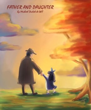 Father and Daughter by jaimie07