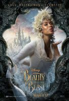 Gugu Mbatha-Raw as Plumette in Beauty  the Beast by Artlover67