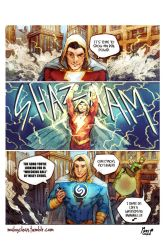 SHAZAM!...or maybe not. by MabyMin