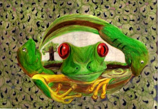 THREE PHASE TREE FROG by humbleb