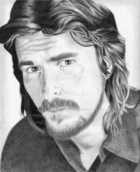 Christian Bale by Melissas-Artwork