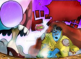 One Piece Chapter 863+ BIG MOM ATTACK JINBEI Luffy by Amanomoon