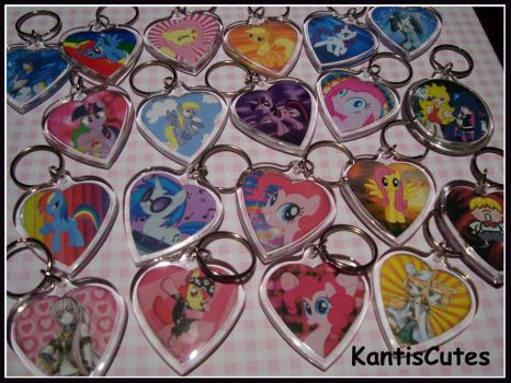 Keychain Galore by ObjectionSoS