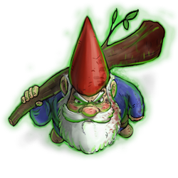 Roll20 custom character token, David the Gnome by zachjacobs
