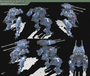 Hardwares of Conflict 01C by grid-gunner