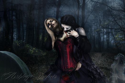 The Gothic Embrace by medieval-vampire121