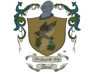 Commission Boswell Coat of Arms by HellmoonHV