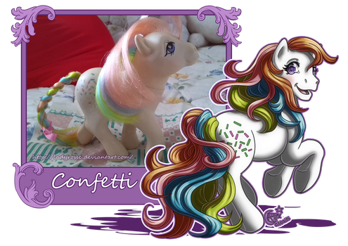 MLP Collection: #5 Confetti by LadyRosse