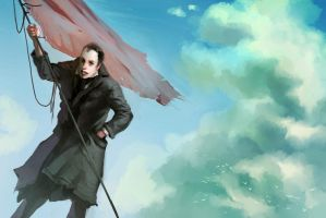 Under Faded Flags by kinnas