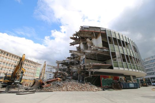 Demolition site Stock 21 by Malleni-Stock