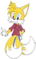 Tails (Redraw) by SassyMelvin