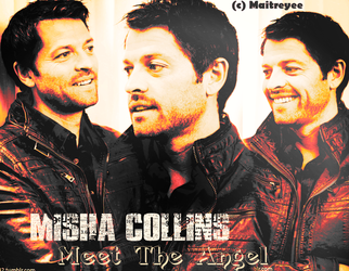 Misha_Collins_Castiel by magicrubbish