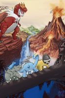 Movies with Pokemon - The Land Before Time by KariOhki