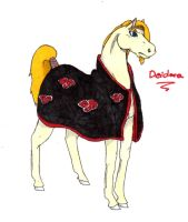 Akatsuki horses: Deidara by nightwindwolf95