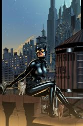 Catwoman City by logicfun