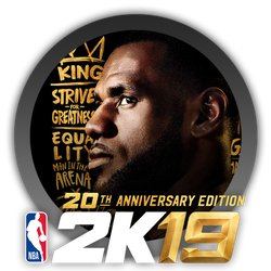 NBA 2K19 20th Anniversary Edition - Icon by Blagoicons