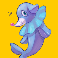 popplio doodle by cakep0p