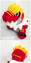 Tyrantrum doll
