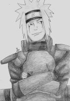 Young Jiraiya by Zuza3542
