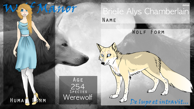 || WOGM Application || Brielle Alys Chamberlain || by Marclenia