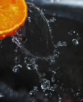Orange - Water by NurNurIch