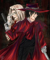 Hellsing by Daughter-of-Liberty