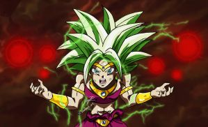 Kefla as Broly - painted by MrSawyer10