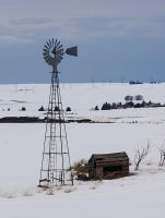 Windmill in theSnow  by TRunna