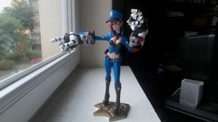 Officer Vi Painted by MankejDesigns