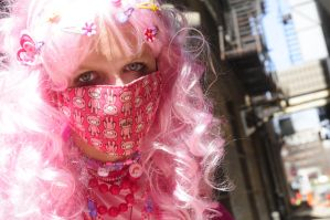 Decora: Face shot with mask by Kiyoko-Hime