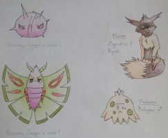 [OLD : 06/2014] Old Nuzlocke stuff   2nd part by LuckyFy