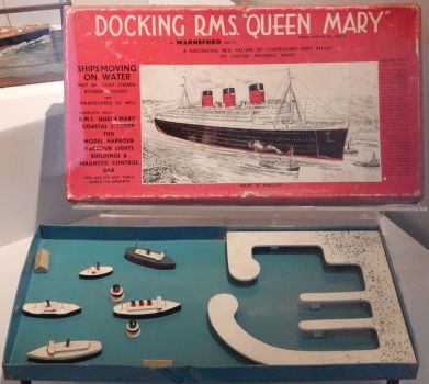 Warneford Docking RMS Queen Mary Magnetic Game by rlkitterman