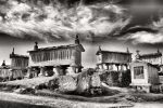 Soajo granaries in Portugal by vmribeiro