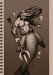 MerMay Day Seventeen by JesseCoyArt