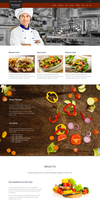 Jkreativ Restaurant Theme by sandracz