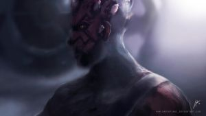 Maul by DarthTemoc