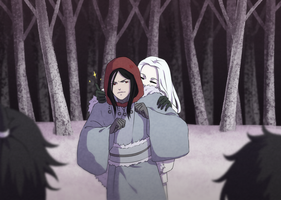 HLV Sougen: Little Red Riding Hood and Snow White by XxYorunoHimexX
