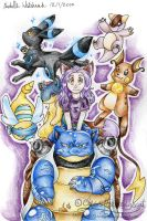 Wolfloner2004's Pokemon team