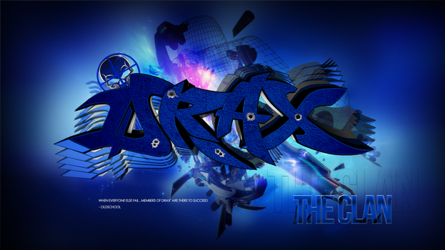 Drax Sniping TheClan Wallpaper by GFX-ZeuS