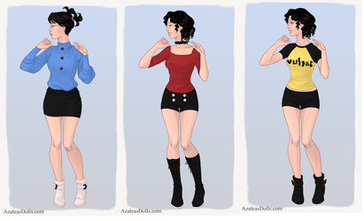 Noodle outfits by KarlitaTerrazas14