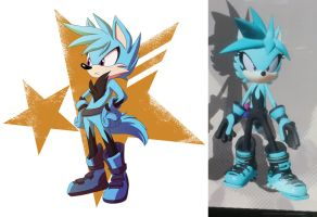 Sonic Forces OC - Versa by SupercellComic