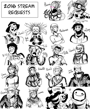 New Years EVE REQUESTS by LulzyRobot