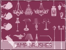 Lamp Brushes by arca-stock