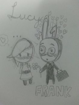 .::Sub Surf::. Frank x Lucy~ by AngryMordReturns