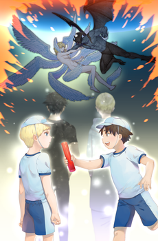 devilman crybaby by BOMHAT