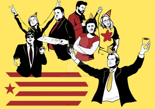 catalan party by runawaywithyou