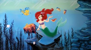 Under the Sea Mural by Kchan27
