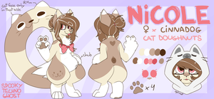 Nicole (ref. sheet) by sharkissus